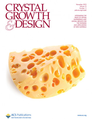 Crystal Growth and Design, 2013